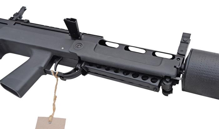 Автономная ВВД винтовка ВКС Выхлоп. Частный вид
